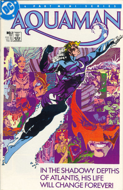 Cover for Aquaman (DC, 1986 series) #1 [Direct Sales]