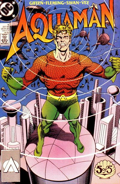 Cover for Aquaman (DC, 1989 series) #5