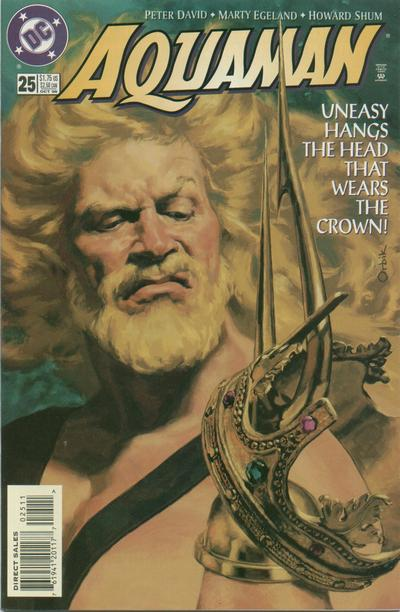 Cover for Aquaman (DC, 1994 series) #25