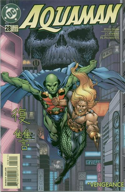 Cover for Aquaman (DC, 1994 series) #28