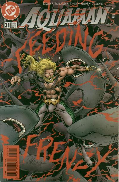 Cover for Aquaman (DC, 1994 series) #31