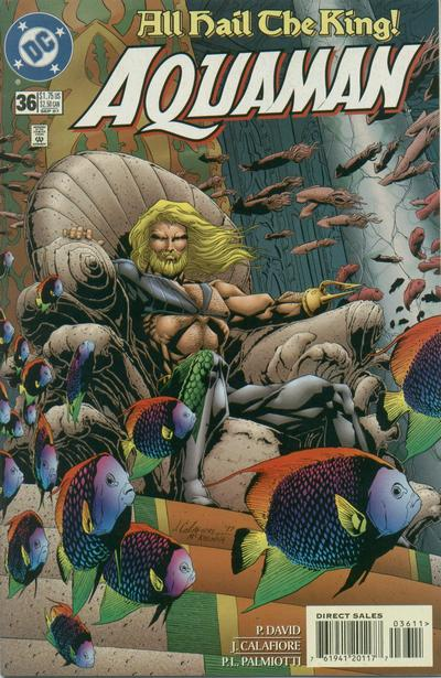 Cover for Aquaman (DC, 1994 series) #36