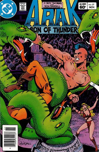 Cover for Arak / Son of Thunder (DC, 1981 series) #27 [Direct]