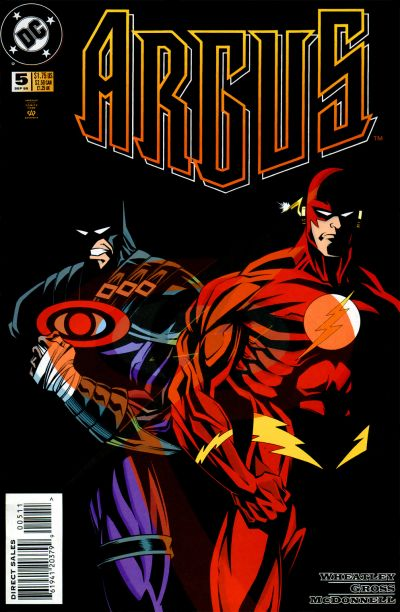 Cover for Argus (DC, 1995 series) #5