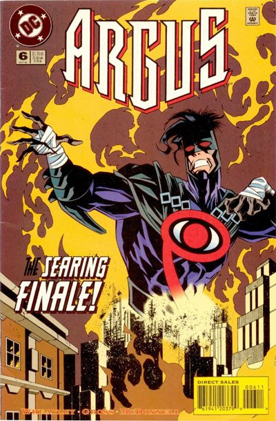 Cover for Argus (DC, 1995 series) #6
