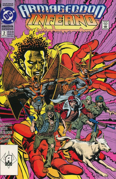 Cover for Armageddon: Inferno (DC, 1992 series) #2