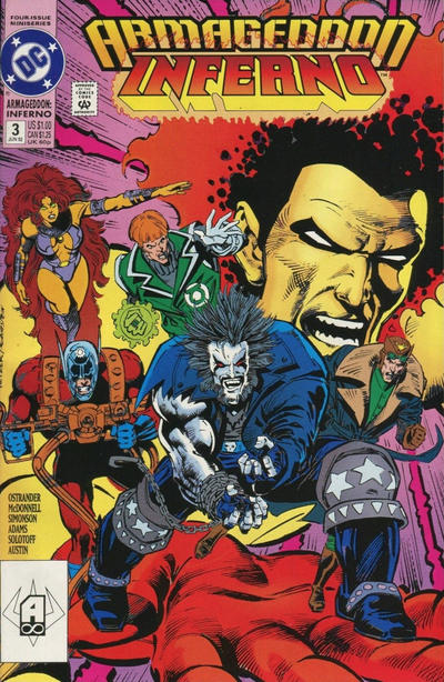 Cover for Armageddon: Inferno (DC, 1992 series) #3