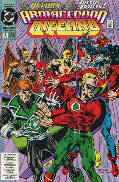 Cover for Armageddon: Inferno (DC, 1992 series) #4