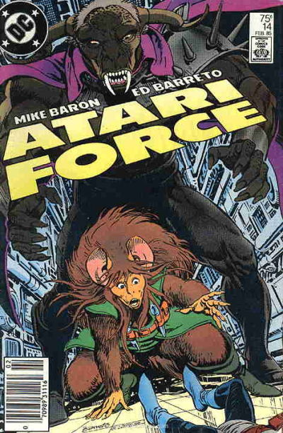Cover for Atari Force (DC, 1984 series) #14 [Direct Edition]