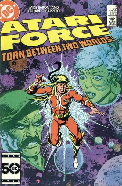 Cover for Atari Force (DC, 1984 series) #18 [Direct Sales]