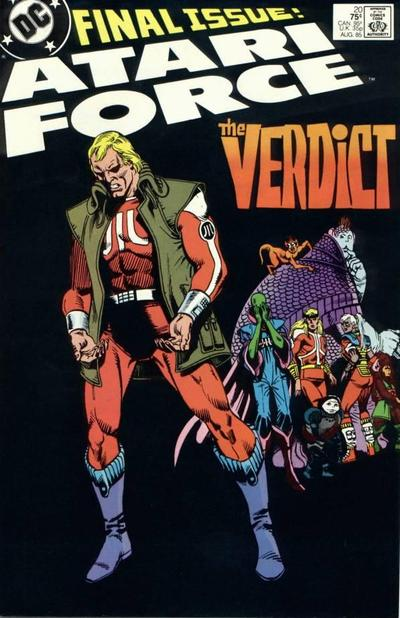 Cover for Atari Force (DC, 1984 series) #20 [Direct Sales]