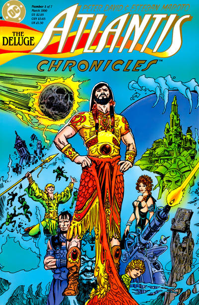 Cover for The Atlantis Chronicles (DC, 1990 series) #1