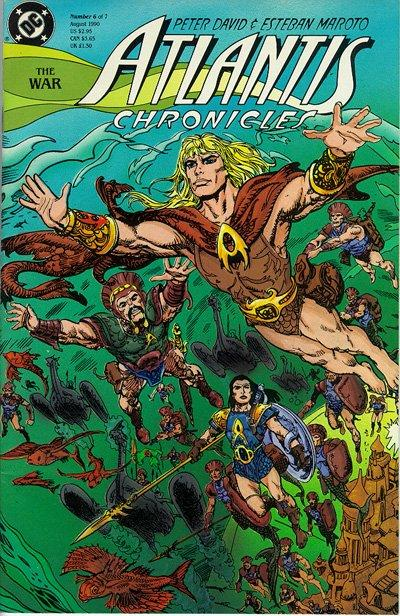 Cover for The Atlantis Chronicles (DC, 1990 series) #6