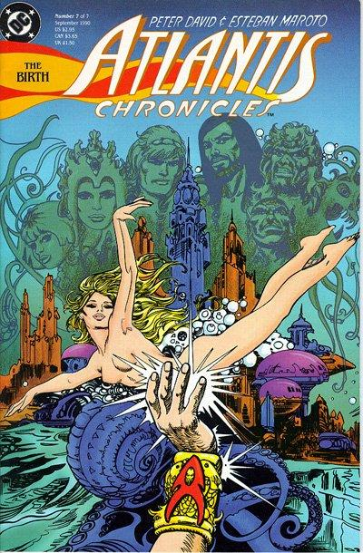 Cover for The Atlantis Chronicles (DC, 1990 series) #7