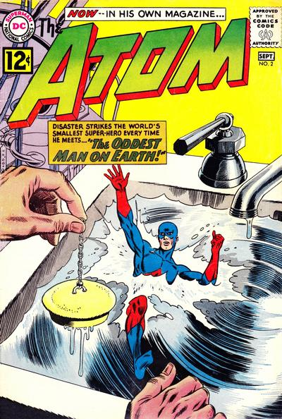 Cover for The Atom (DC, 1962 series) #2