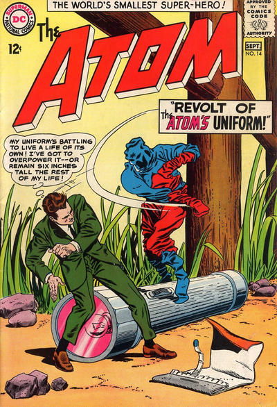 Cover for The Atom (DC, 1962 series) #14