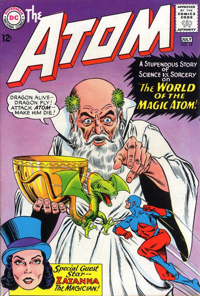 Cover for The Atom (DC, 1962 series) #19