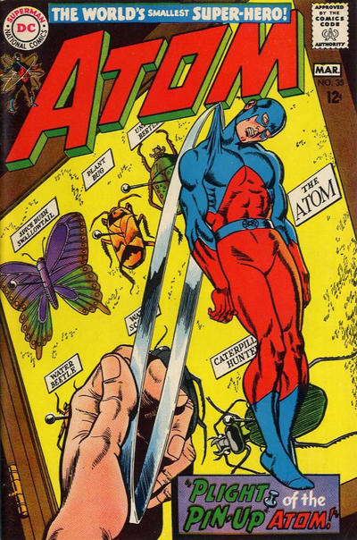 Cover for The Atom (DC, 1962 series) #35
