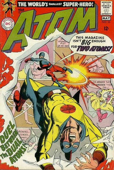 Cover for The Atom (DC, 1962 series) #36