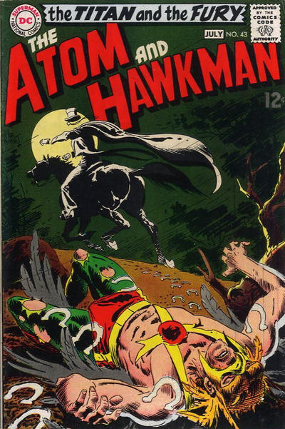 Cover for The Atom & Hawkman (DC, 1968 series) #43