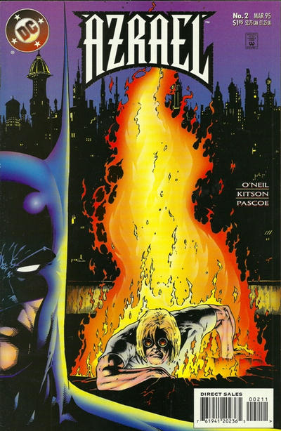 Cover for Azrael (DC, 1995 series) #2 [Direct Sales]