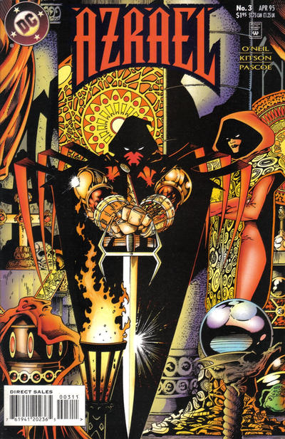 Cover for Azrael (DC, 1995 series) #3 [Direct Sales]