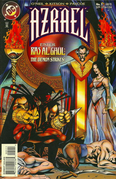 Cover for Azrael (DC, 1995 series) #5 [Direct Sales]