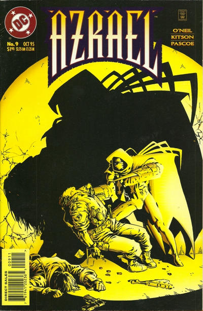 Cover for Azrael (DC, 1995 series) #9 [Direct Sales]