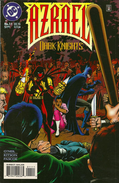 Cover for Azrael (DC, 1995 series) #11