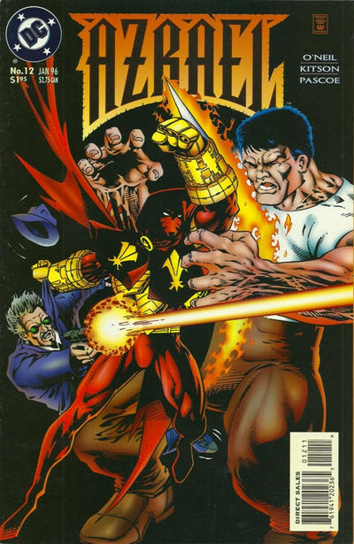 Cover for Azrael (DC, 1995 series) #12