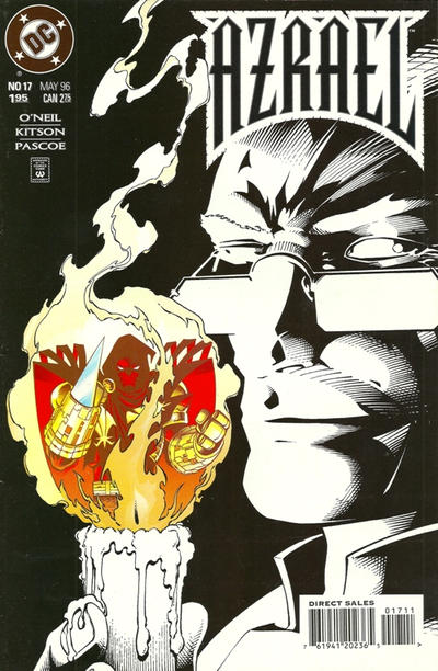 Cover for Azrael (DC, 1995 series) #17 [Direct Sales]