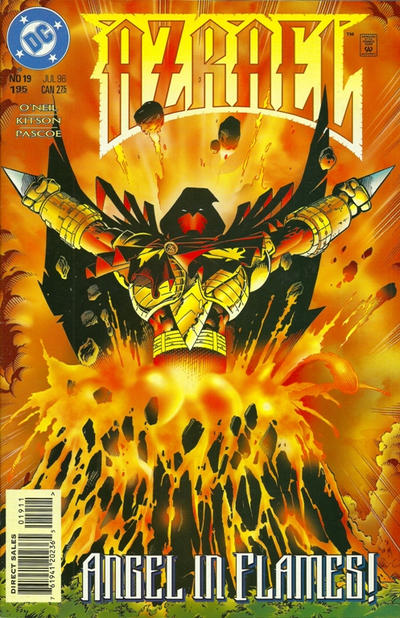 Cover for Azrael (DC, 1995 series) #19