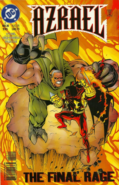 Cover for Azrael (DC, 1995 series) #20 [Direct Sales]