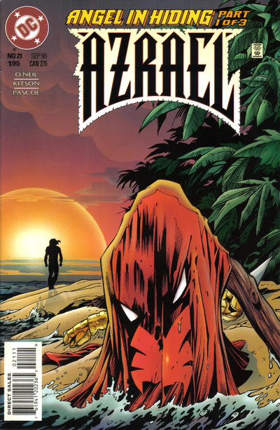 Cover for Azrael (DC, 1995 series) #21 [Direct Sales]