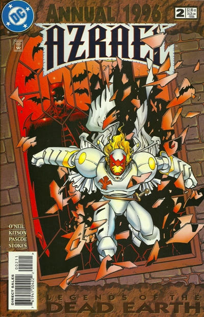 Cover for Azrael Annual (DC, 1995 series) #2