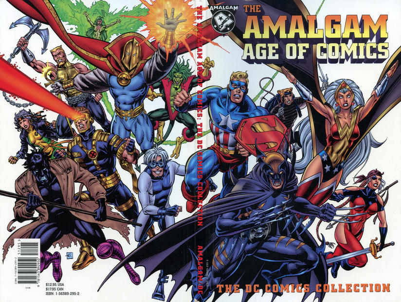 Cover for The Amalgam Age of Comics: The DC Comics Collection (DC, 1996 series) #1