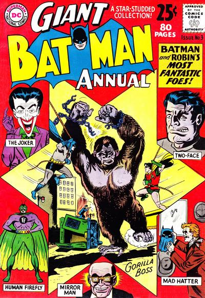 Cover for Batman Annual (DC, 1961 series) #3