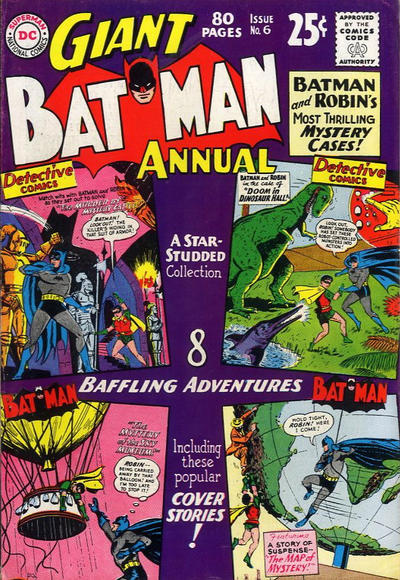 Cover for Batman Annual (DC, 1961 series) #6
