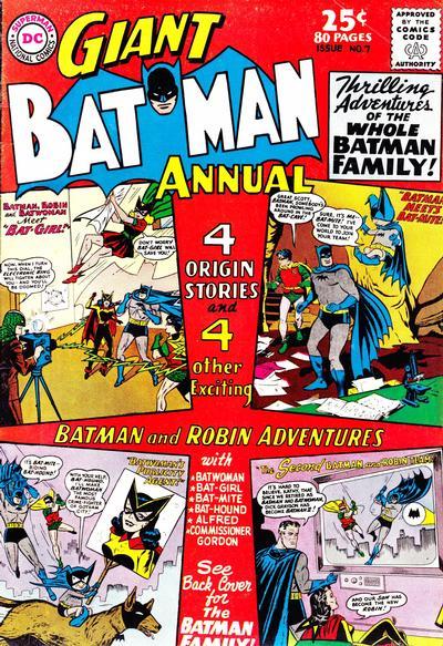 Cover for Batman Annual (DC, 1961 series) #7