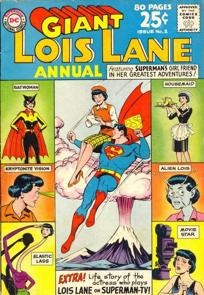 Cover for Lois Lane Annual (DC, 1962 series) #2
