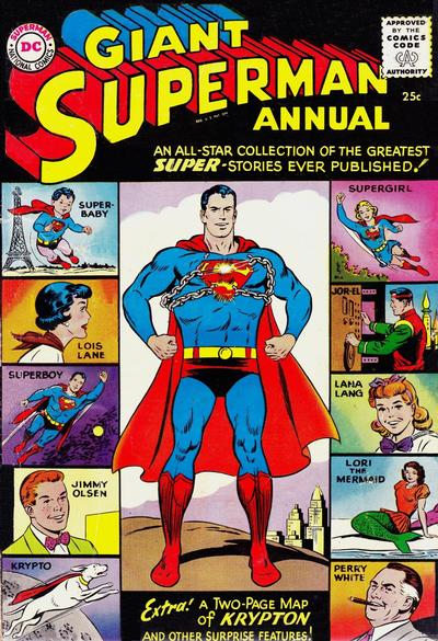 Cover for Superman Annual (DC, 1960 series) #1