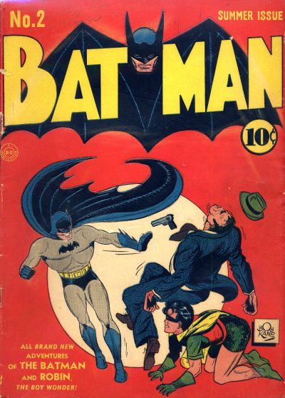 Cover for Batman (DC, 1940 series) #2