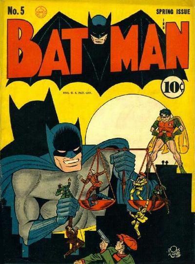 Cover for Batman (DC, 1940 series) #5