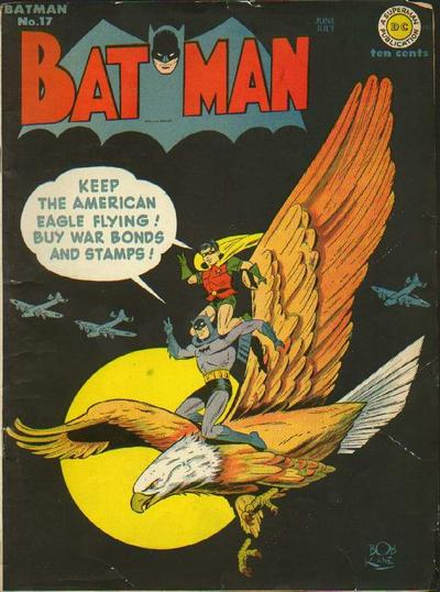 Cover for Batman (DC, 1940 series) #17