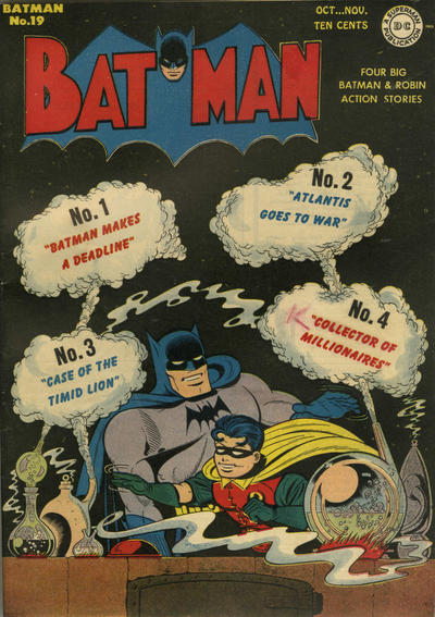 Cover for Batman (DC, 1940 series) #19