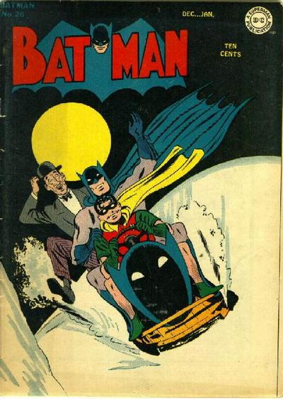 Cover for Batman (DC, 1940 series) #26