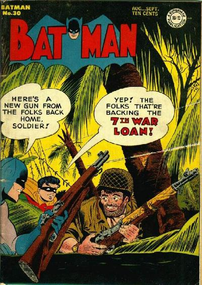 Cover for Batman (DC, 1940 series) #30