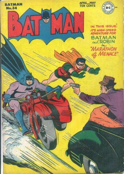 Cover for Batman (DC, 1940 series) #34