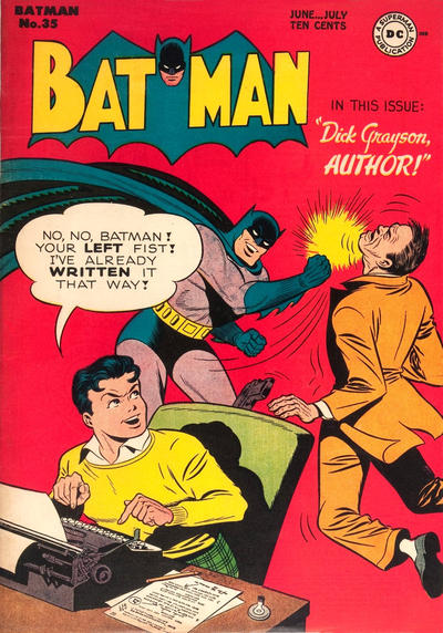 Cover for Batman (DC, 1940 series) #35