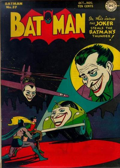 Cover for Batman (DC, 1940 series) #37